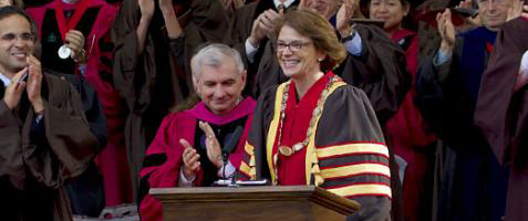Inauguration of Brown University's 19th President